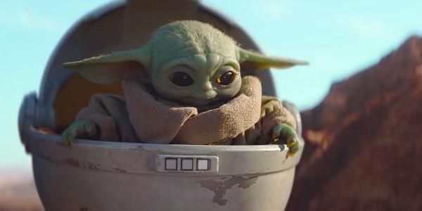 The Mandalorian 2 und Baby Yoda Hier ist alles, was wir darüber wissen the child im fliegenden babywagen