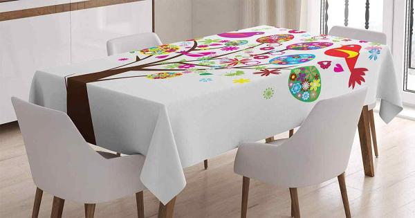 Tischdecke - Ostern-Tischdeko