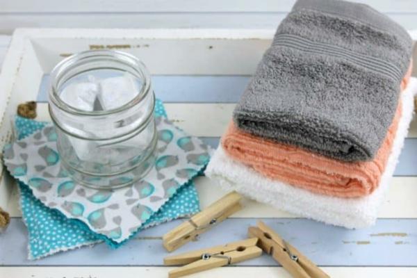 Waschmittel selber machen Heimtextilien waschen