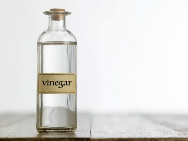 Waschmittel selber machen Rezept Weichspüler mit Essig
