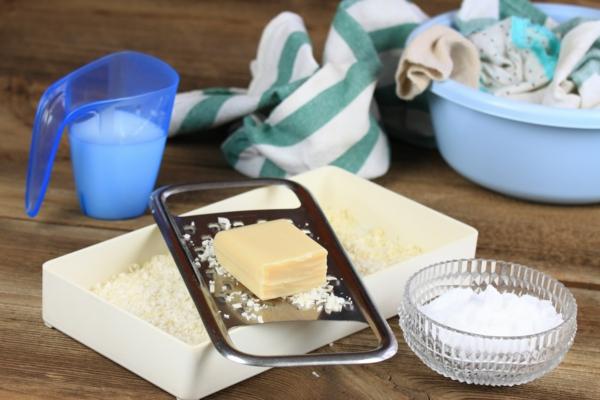 Waschpulver selber machen Zutaten Rezept