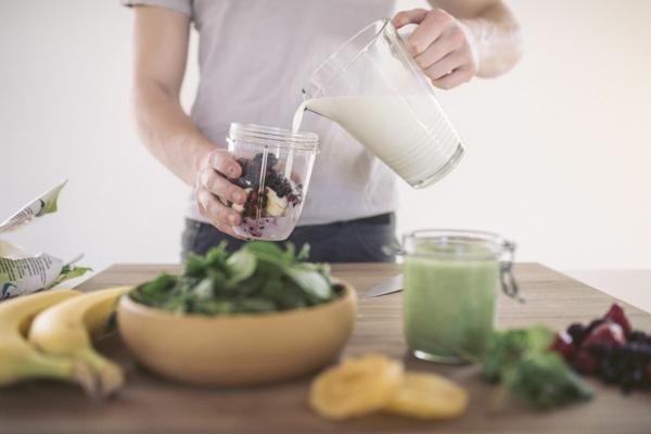 abnehm shake smoothie rezept