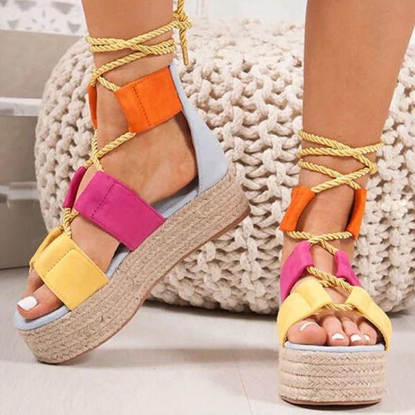 bunte pracht - tolle schuhe schöne sandalen