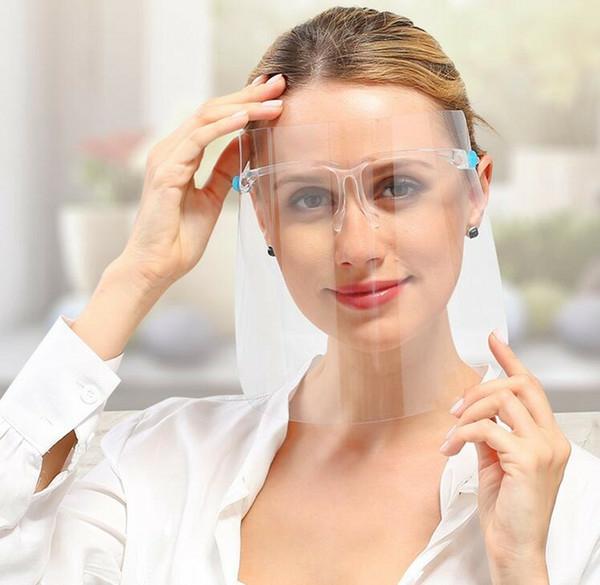 coronavirus schutzvisier mit brillengestell