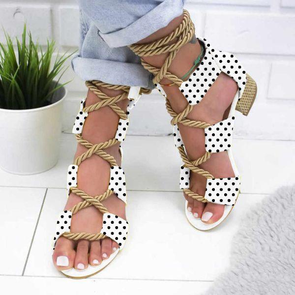 damenschuhe mit bändern schöne sandalen