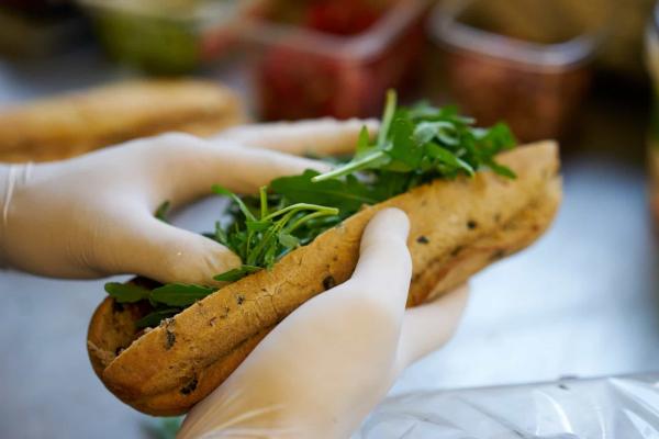 ein Sandwich - tolle und leckere Abnehmtipps