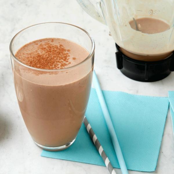 erdnussbutter kakao abnehm shake mit protein