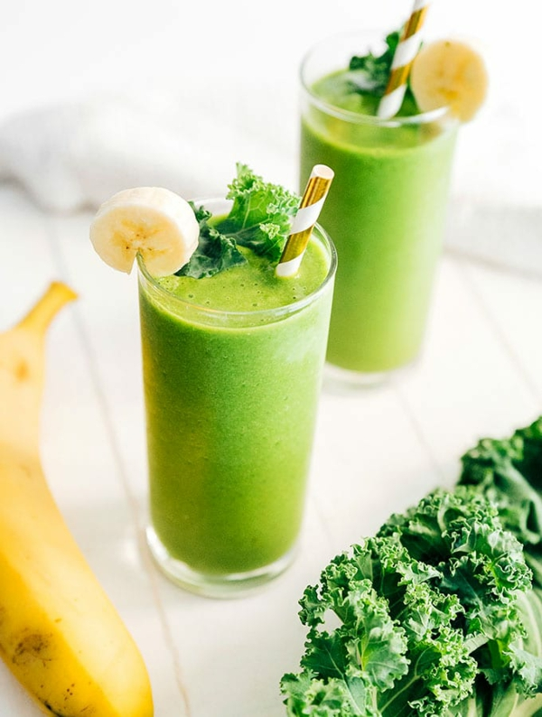 grünkohl banane abnehme shake