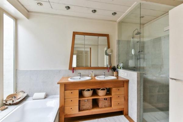 kleine badezimmereinrichtung ideen
