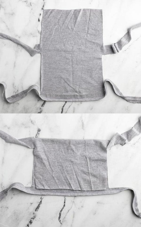 mundschutz maske aus t-shirt selber machen