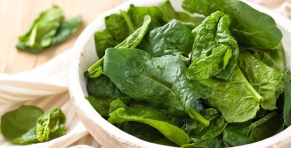 spinat gesund stoffwechsel ankurbeln