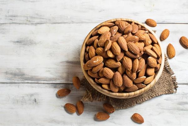 stoffwechsel anregen mandeln essen