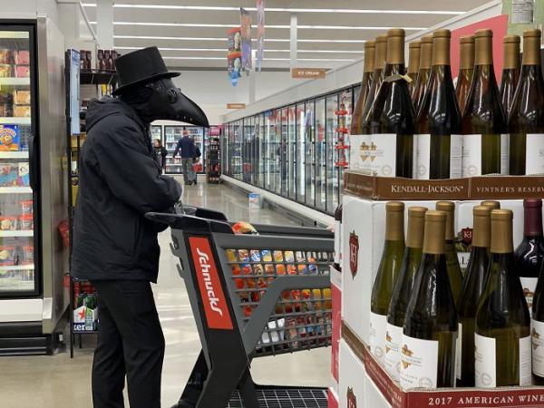 supermarkt diy ideen atemmasken