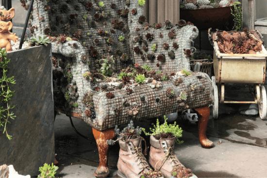 upcycling gartenidee zum selbermachen pflanzkübel selber machen