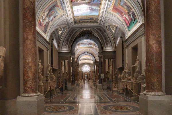 vatikanische museen in rom virtuelle rundgaenge
