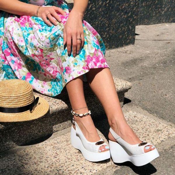 wunderbare weiße schuhe schöne sandalen