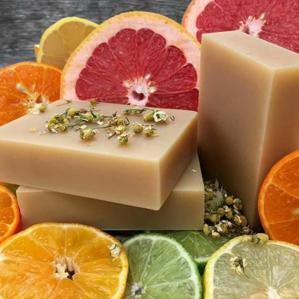 zitrusfrüchte festes shampoo selber machen