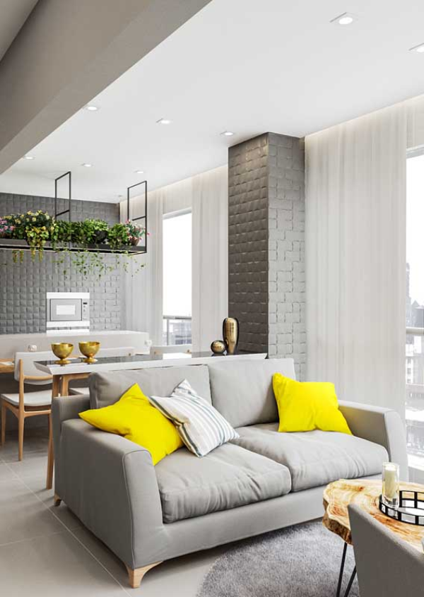 Balkon-Sofa - Deko Ideen