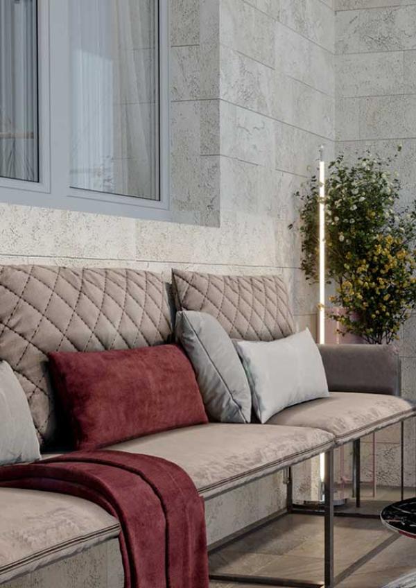 Balkon-Sofa - Pflegeleichte Möbel