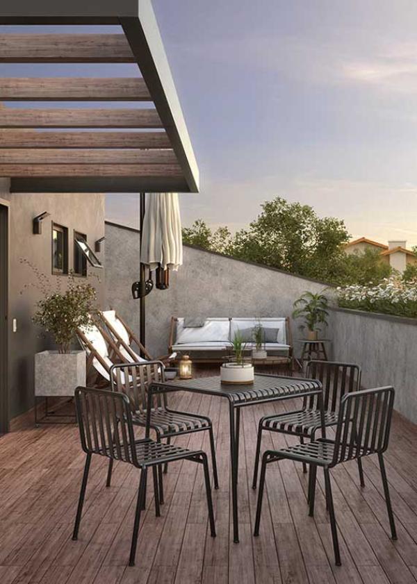 Balkon-Sofa - Spa Möbeöl - Lounge