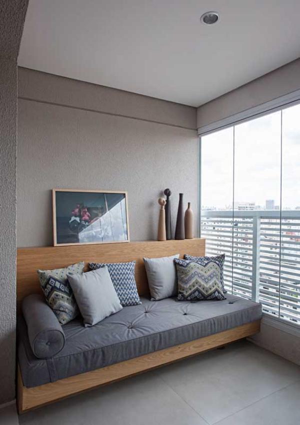 Balkon-Sofa - tolle Möbelideen