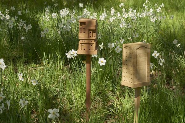 Bee Home Diese DIY Ikea-ähnlichen Häuser könnten helfen, die Bienen zu retten kleine bienenhäuser im garten