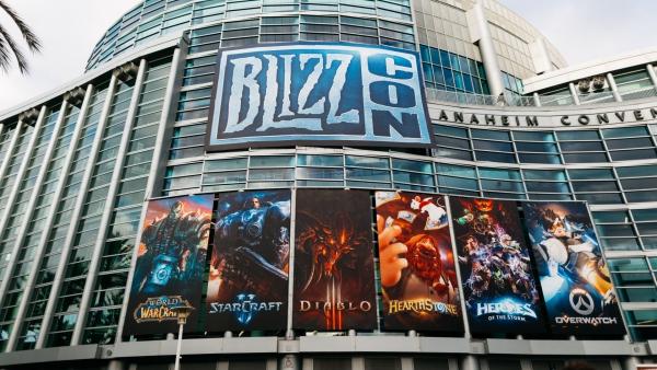BlizzCon 2020 von Blizzard wird aufgrund des Coronavirus abgesagt anaheim kalifornien hauptgebäude bühne