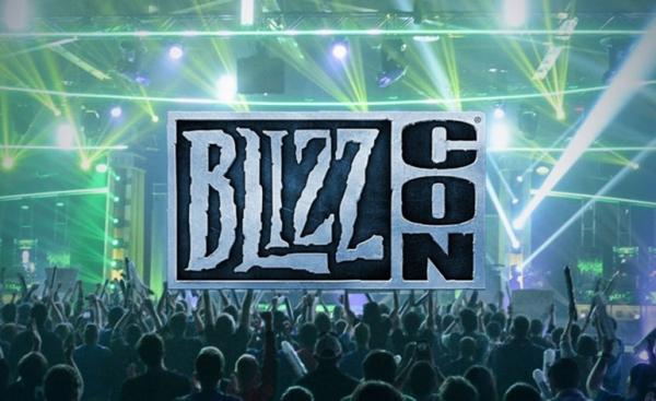 BlizzCon 2020 von Blizzard wird aufgrund des Coronavirus abgesagt bühne und logo activision blizzard