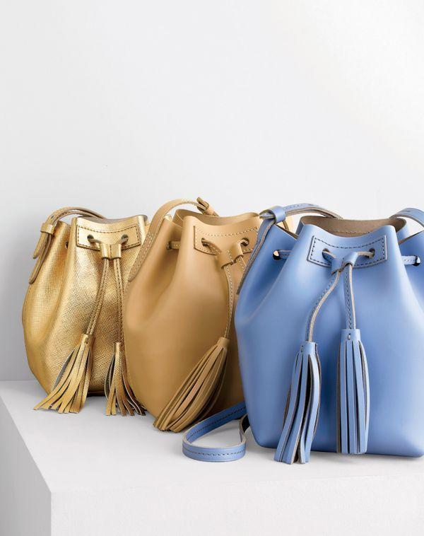 Damentaschen - Beige , Blau, verschiedene Farben