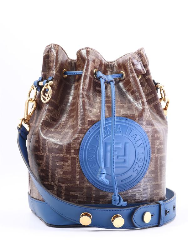 Damentaschen Fendi - blaue Zeichen
