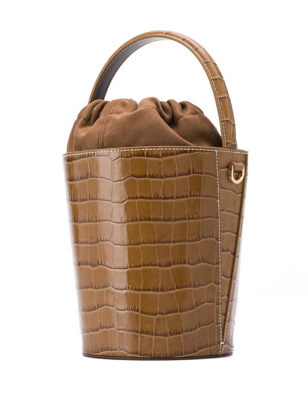 Damentaschen - braune Tasche aus Leder