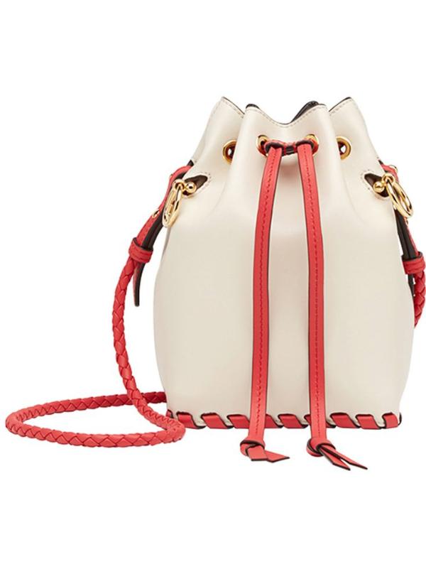 Damentaschen rot-weiße Tasche