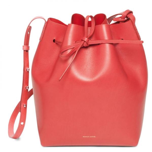 Damentaschen - rote Ideen - elegante grelle Taschen