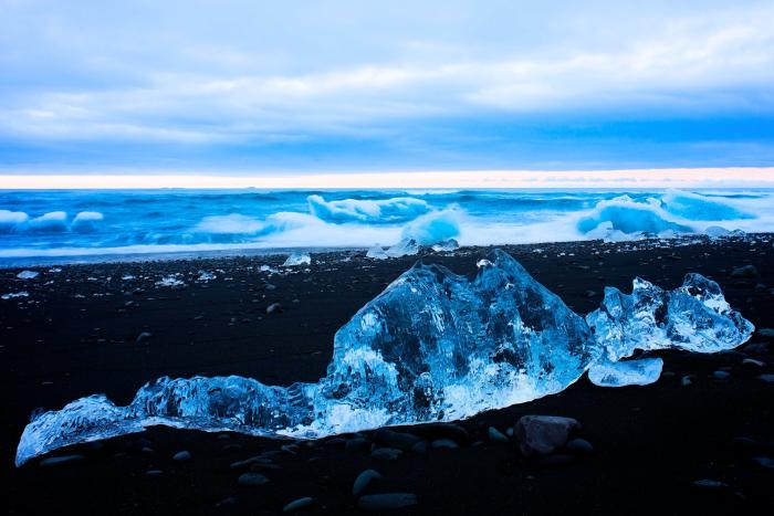 Der schönste Strand in Europa Diamond Beach in Island mystisch spektakulär wunderschön