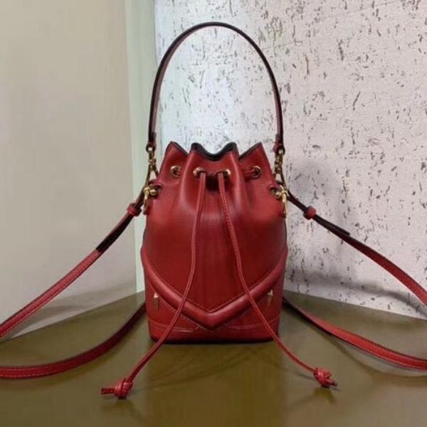 Dunkelrote Handtasche Damentaschen