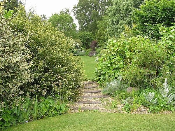 Ein kleines Treppenhaus - Naturgarten anlegen