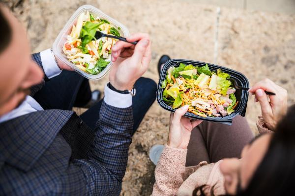 Ein sehr leckerer Salat - Mittagstief