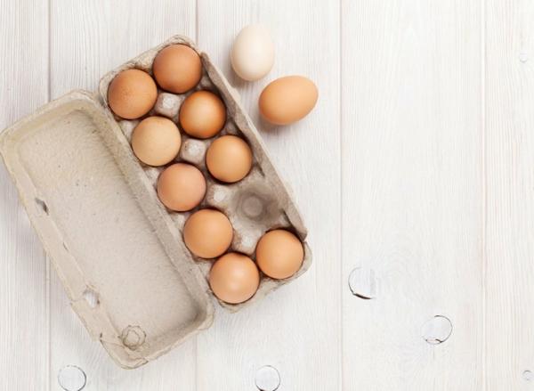 Fett Killer fettverbrennende Lebensmittel Eier