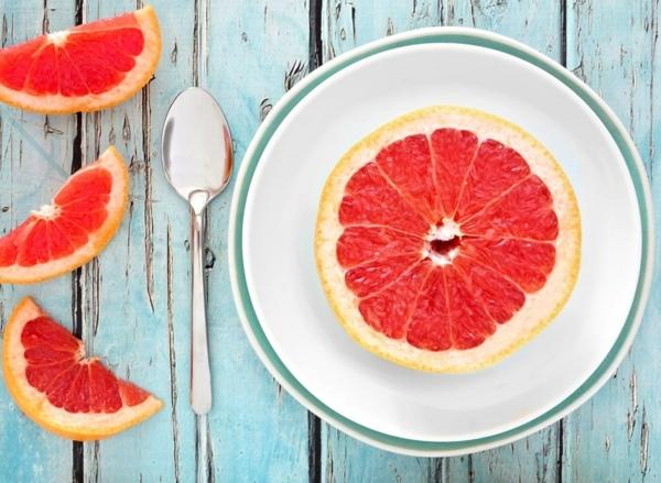 Fett Killer fettverbrennende Lebensmittel Grapefruit