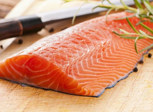 Fett Killer fettverbrennende Lebensmittel Lachs