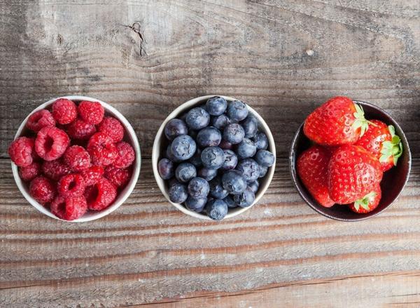 Fett Killer fettverbrennende Lebensmittel Obst Beeren