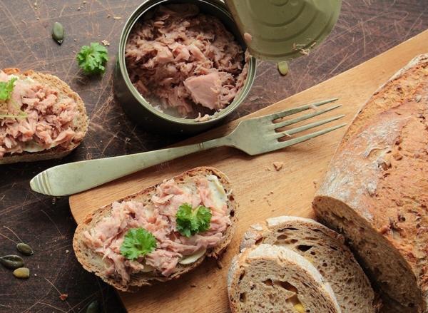Fett Killer fettverbrennende Lebensmittel Tunfisch