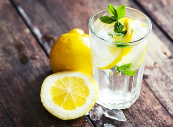 Fett Killer fettverbrennende Lebensmittel Zitronen Wasser