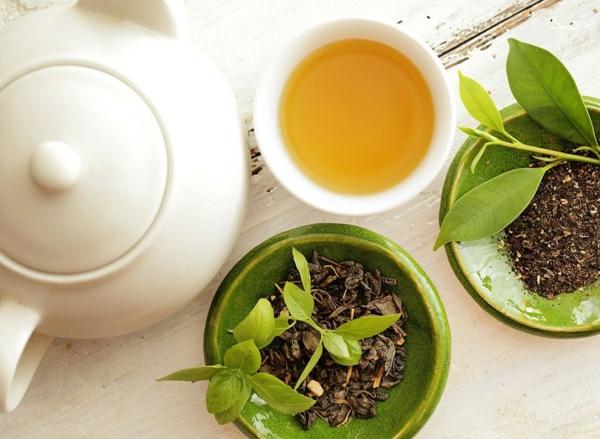 Fett Killer fettverbrennende Lebensmittel grüner Tee