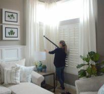 Gardinen waschen: Tipps udn Tricks für die richtige Gardinenpflege