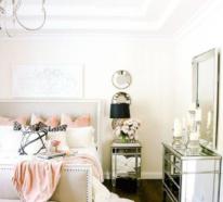 Interessante Designideen für glamouröse Schlafzimmer
