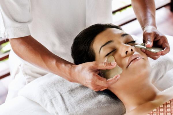 Gua Sha Massage Spa Ideen Gesundheit