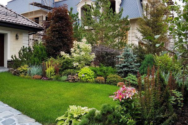 Naturgarten anlegen - einen Vorhof bilden