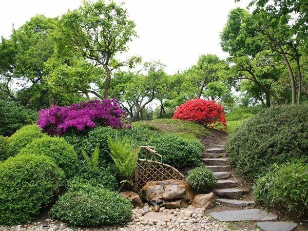 Naturgarten anlegen künstliche Landschaft Gartengestaltung