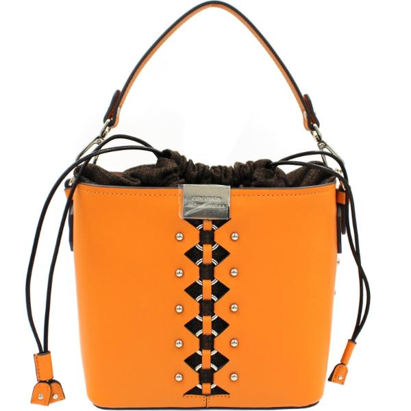 Orangene Tasche - Damentaschen